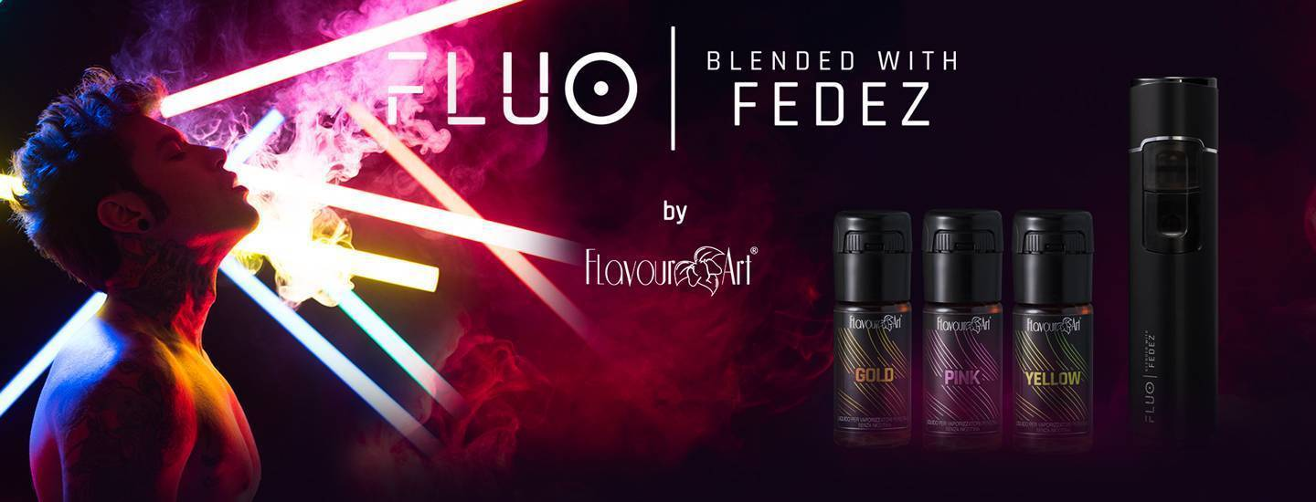 Banner FLUO, Blended with Fedez
